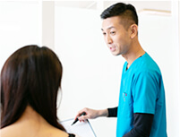 御殿場市 長澤健康院の説明・アドバイス